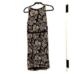 Loft Jerseys dress with keyhole at back